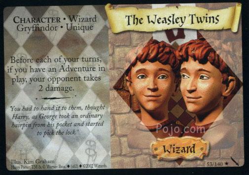 Bliźniaki Weasley (karta)