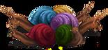 Colourful Streeler Shells