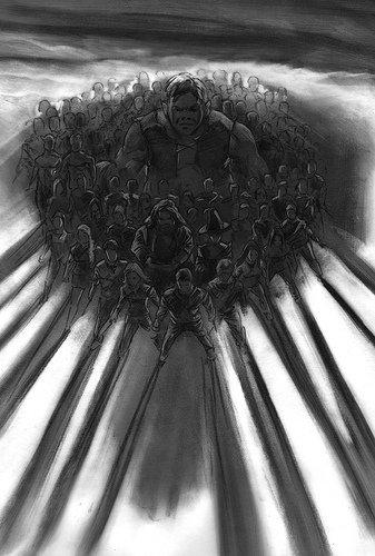 DH2 Concept Art Battle of Hogwarts with Grawp.jpg