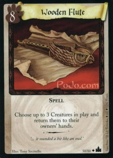 Wooden Flute (Trading Card)