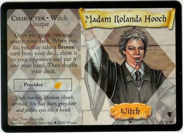 Madam Rolanda Hooch (karta)