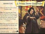 Minus 5 punktów dla Gryffindoru (karta)