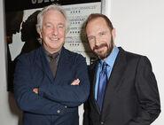 Alan Rickman and Ralph Fiennes