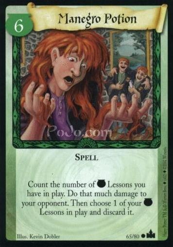 Manegro Potion (Trading Card)
