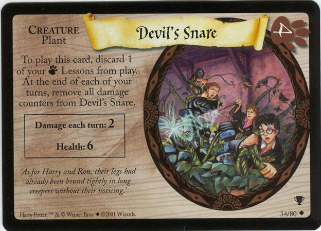 Diabelskie sidła (karta)