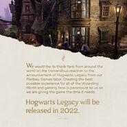 Data premiery Dziedzictwa Hogwartu