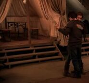 Harry and Hermione dancing inside the tent 04