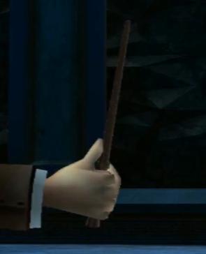 Quirinus Quirrell's wand