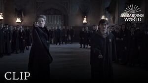 Wizard Duel Minerva McGonagall vs Severus Snape Harry Potter and the Deathly Hallows Pt