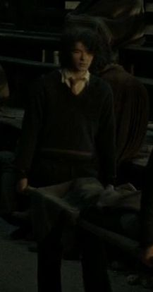 Unidentified Hogwarts Hufflepuff boy who carried a body during the Battle of Hogwarts