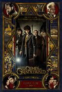 Crimes of Grindelwald SDCC Poster
