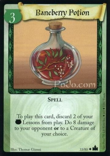 Baneberry Potion (Trading Card)