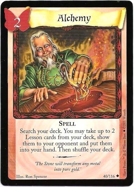 Alchemy (Trading Card)