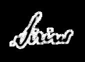 Semnătură Sirius Black