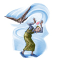 Albus Dumbledore's howler to Petunia Dursley