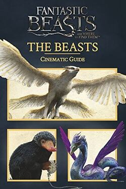 Fantastic Beasts and Where to Find Them Cinematic Guide The Beasts Обложка 2017 Scholastic Inc.jpg