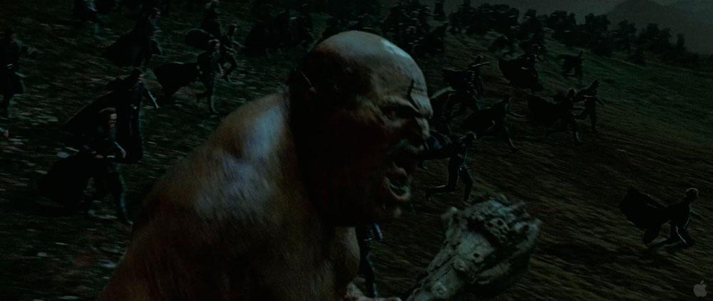 Unidentified Giant in the Battle of Hogwarts (II)