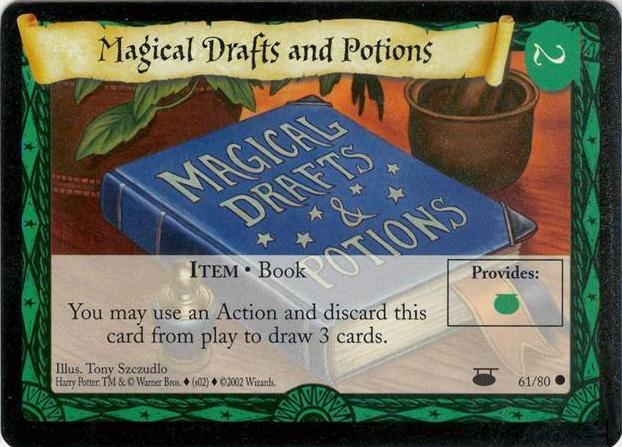 Magiczne wzory i napoje (karta)