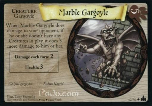 Marble Gargoyle (Trading Card)