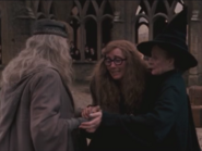 Trelawney and Dumbledore