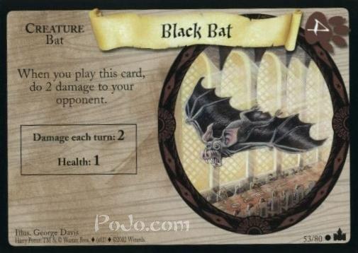 Black Bat (Trading Card)
