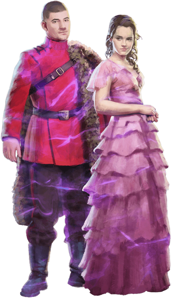 Brilliant Hermione and Viktor WU.png
