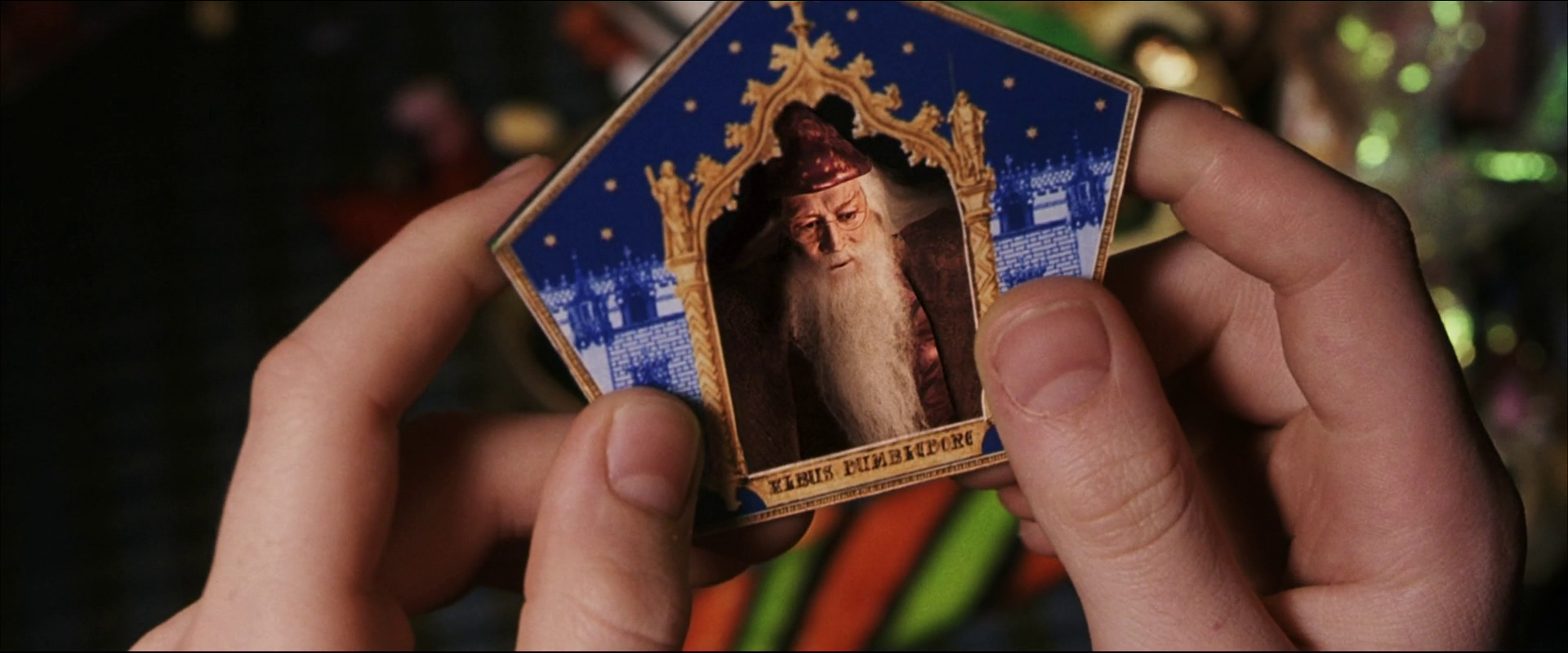 Albus Dumbledore (Chocolate Frog Card)