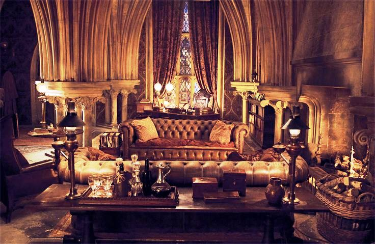 Horace Slughorn's office