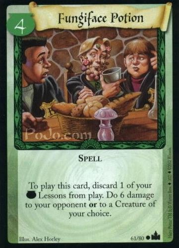 Fungiface Potion (Trading Card)