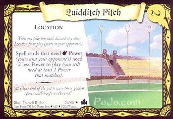 Boisko quidditcha (karta)