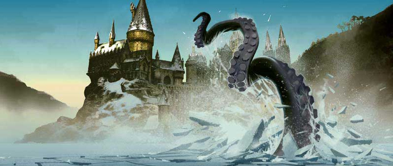 Hogwarts Giant Squid