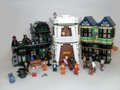 Косой переулок лего