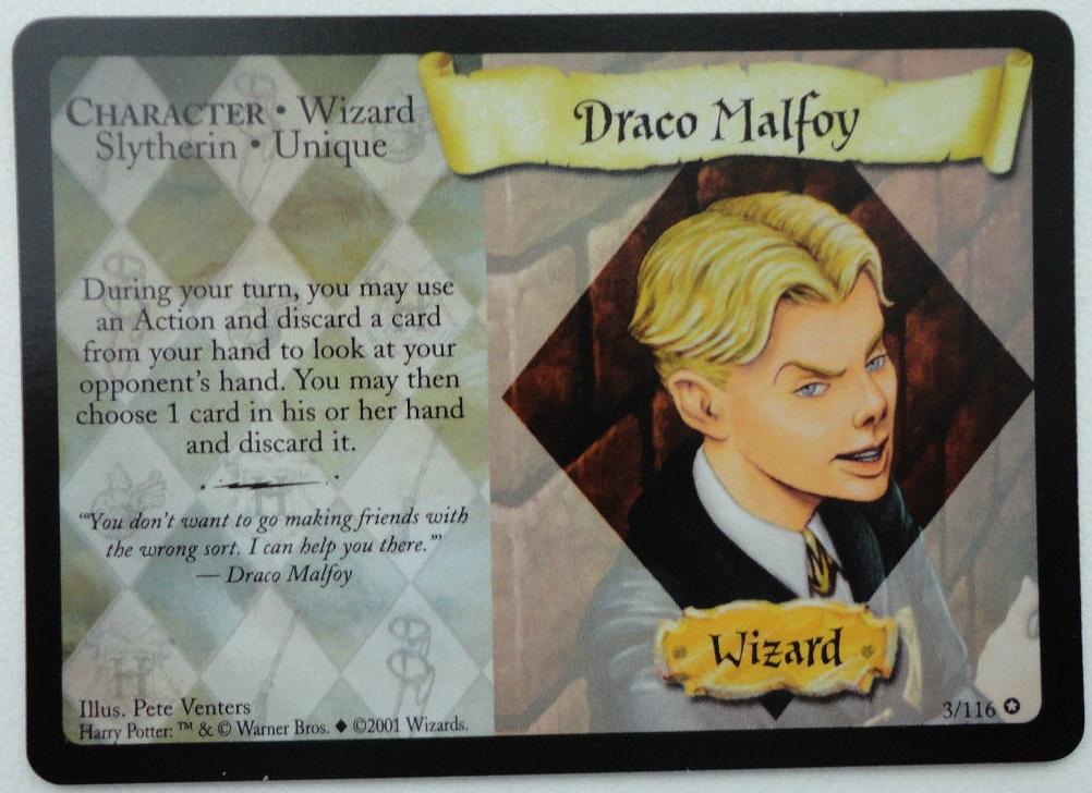 Draco Malfoy (pospolita karta)