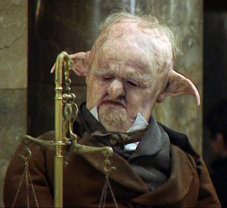 Unidentified Goblin at Gringotts in 1998 (V)