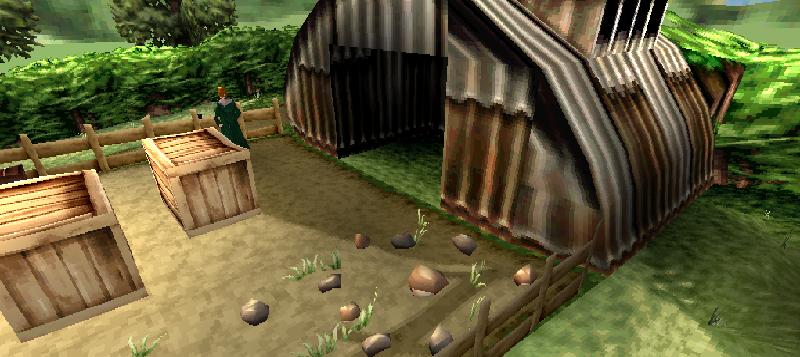 Arthur Weasley's shed
