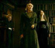 Pettigrew, Narzissa + Bellatrix in Spinner's End