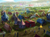 Quidditch World Cup Campsite