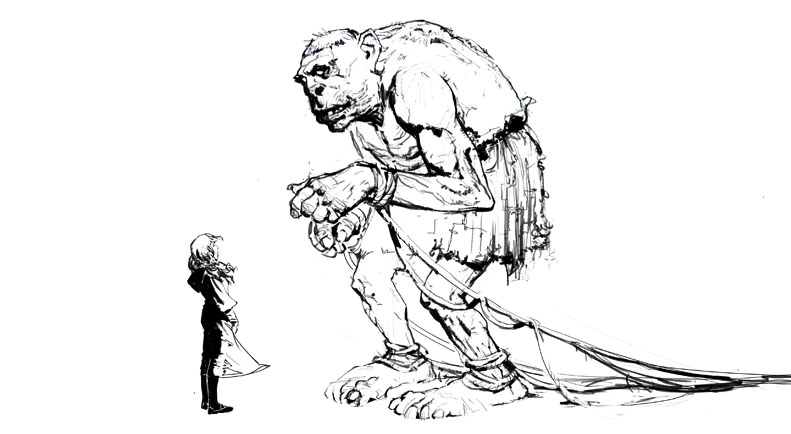 Grawp (Conceptual Artwork for the HP5 movie 03).jpg