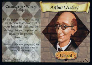 Artur Weasley (karta)