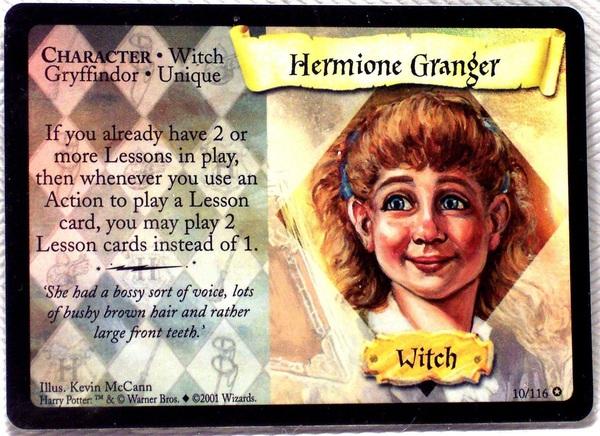 Hermiona Granger (karta foliowana 2)