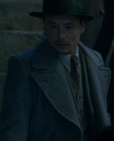 Grand-père de Cho Chang