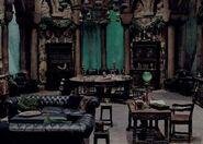 Slyterhin Common Room smygard oppholdsrom