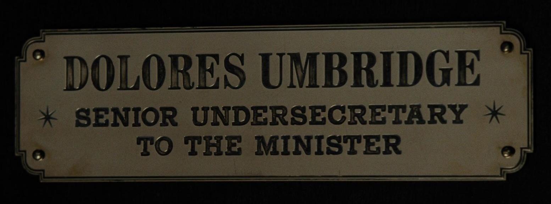 Senior Undersecretary to the Minister for Magic