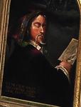 Unidentified Sleeping Headmaster with Castle Sketch