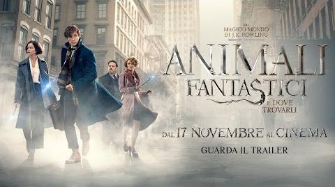 Animali Fantastici e Dove Trovarli - Trailer Ufficiale Italiano