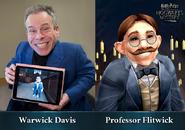 HM promo Warwick Davis Filius Flitwick