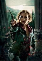 TDHp2 Textless Poster Hermione action