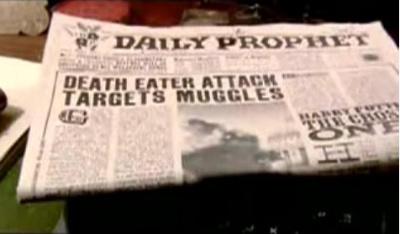 Daily Prophet on Death Eaters attack on Millennium Bridge.jpg