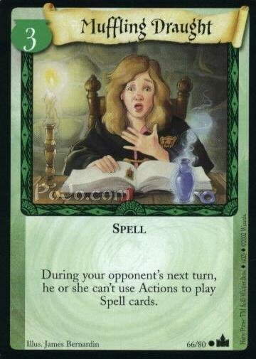 Muffling Draught (Trading Card)