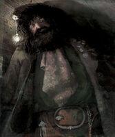 Jim Kay Rubeus Hagrid Illustration